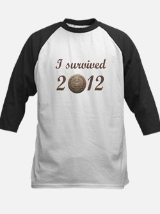 I survived 2012 Kids Baseball Jersey