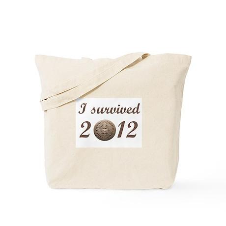 I survived 2012 Tote Bag