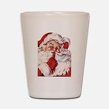 Vintage Santa Shot Glass