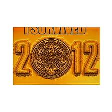 Mayan Calendar Rectangle Magnet