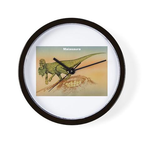 Maiasaura Dinosaur Wall Clock