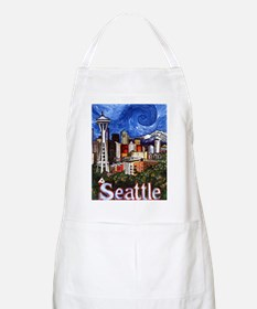 Seattle Skyline Apron