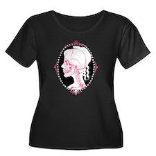Pretty Pink Skull Cameo T