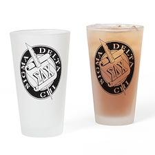 Sigma Delta Chi Drinking Glass