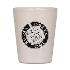 Sigma Delta Chi Shot Glass