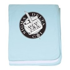 Sigma Delta Chi baby blanket