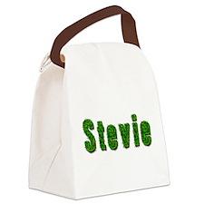 Stevie Grass Canvas Lunch Bag