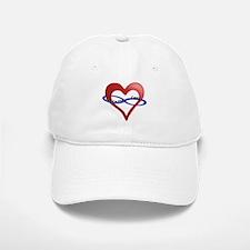 Infinite Love curved text Baseball Baseball Cap