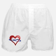 Infinite Love curved text Boxer Shorts