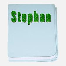 Stephan Grass baby blanket