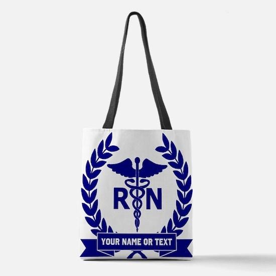 RN (Registered Nurse) Polyester Tote Bag