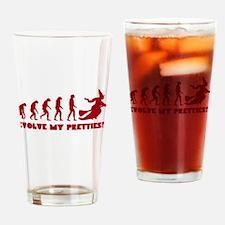 Evolve My Pretties! Drinking Glass