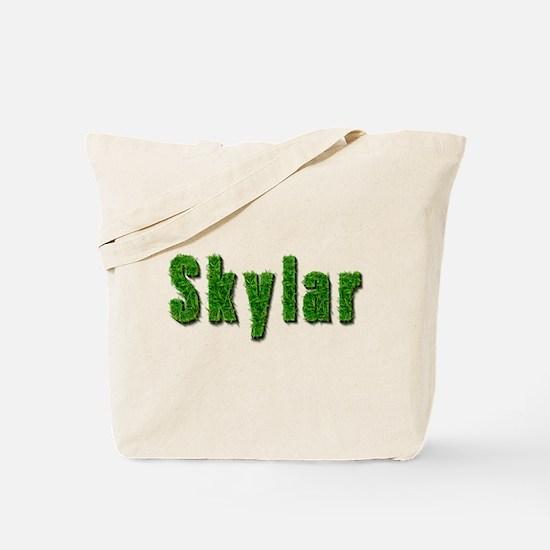 Skylar Grass Tote Bag