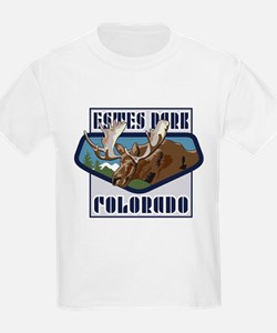 Estes Park Mountaintop Moose T-Shirt