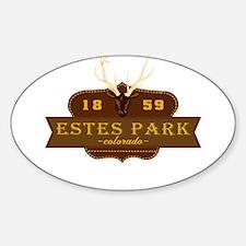 Estes Park National Park Crest Decal