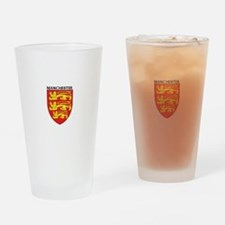 Cute Manchester united Drinking Glass