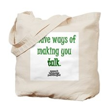 Cute Speech pathologist Tote Bag