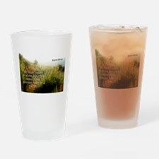 Yet I Have Seen - Joyce Kilmer Drinking Glass