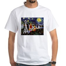 Seattle Starry Night Shirt