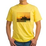 The Shield Of Freedom Yellow T-Shirt