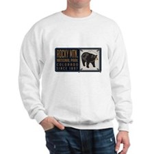 Rocky Mountain Black Bear Badge Sweater