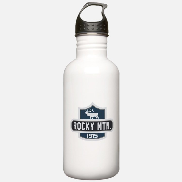 Rocky Mountain Nature Badge Water Bottle