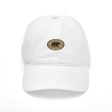 Rocky Mountain Brown Bear Badge Baseball Cap