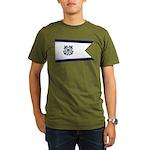 USCG Broad Command Pennant Organic Men's T-Shirt (