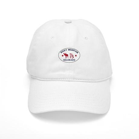 Rocky Mountain Moose Badge Cap