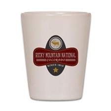 Rocky Mountain Natural Marquis Shot Glass