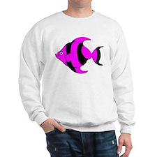Pink Tropical Fish Sweatshirt