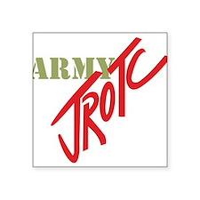 """Army JROTC Square Sticker 3"""" x 3"""""""