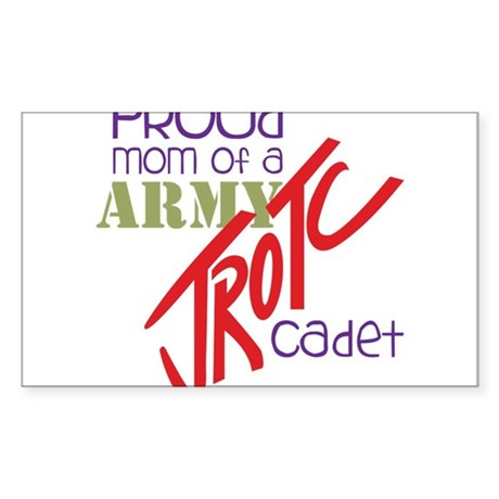 Proud Mom Sticker (Rectangle)