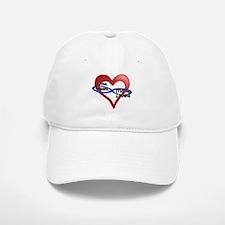 One Heart Baseball Baseball Cap