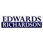 Edwards-Richardson 2008 bumper sticker