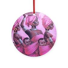 Cute Lillie Ornament (Round)
