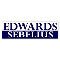 Edwards-Sebelius 2008 bumper sticker
