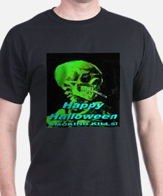 Happy Halloween Smoking Kills T-Shirt