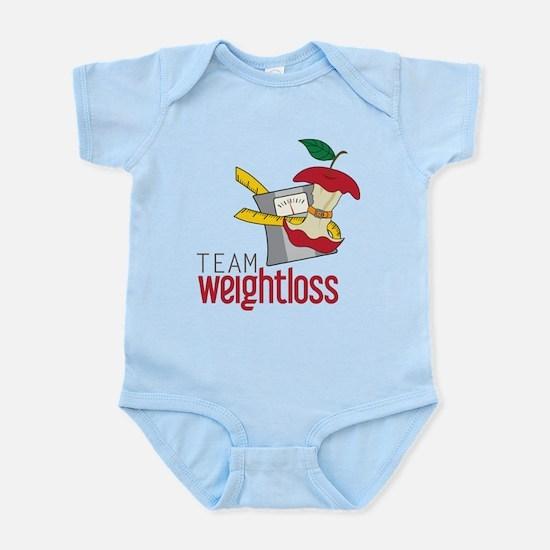 Team Weightloss Infant Bodysuit