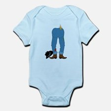 Cowboy Pants Infant Bodysuit