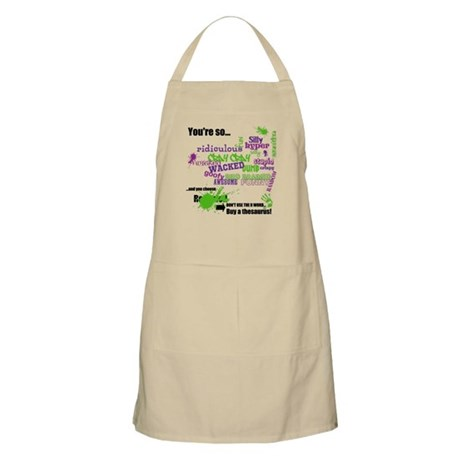 That's So ... Don't Use The R Word Apron