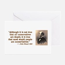 Stupid Conservatives Greeting Cards (Pk of 10)