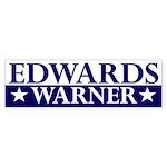 Edwards-Warner 2008 bumper sticker