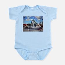 Water Fountain Seagulls Infant Bodysuit