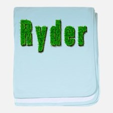 Ryder Grass baby blanket