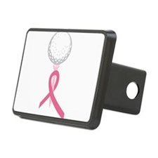 Pink Ribbon Golf Hitch Cover