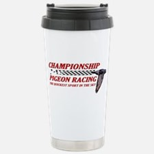Unique Pigeon racing Travel Mug