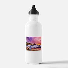 Manhattan Beach Pier Water Bottle