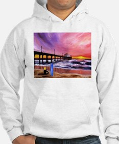 Manhattan Beach Pier Jumper Hoody