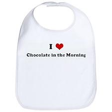 I Love Chocolate in the Morni Bib
